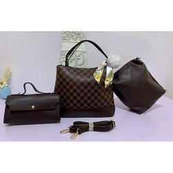 LUXURY WOMEN'S 3 PIECE HAND BAG