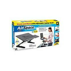 Airspace Adjustable Laptop Desk With Mouse Pad & Cooling Fan