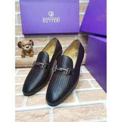 GIANFRANCO BUTTERI HIGH QUALITY LUXURY MEN'S SHOE (AVAILAIBLE IN ALL SIZES) 365