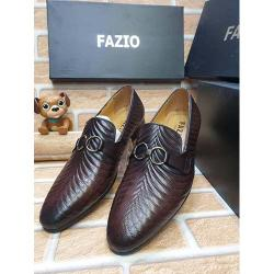 FAZIO HIGH QUALITY LUXURY MEN'S SHOE (AVAILAIBLE IN ALL SIZES) 375