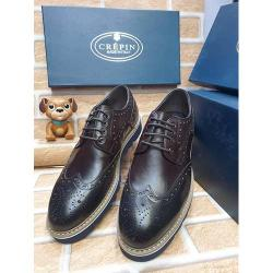 CREPIN HIGH QUALITY LUXURY MEN'S SHOE (AVAILAIBLE IN ALL SIZES) 381