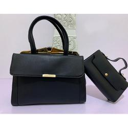ELEGANT WOMEN'S HAND BAG WITH SHOULDER LOCK BAG|BLACK