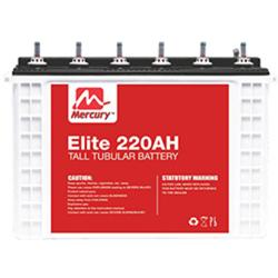 MERCURY 12V,220AH TUBULAR BATTERY|MER 220