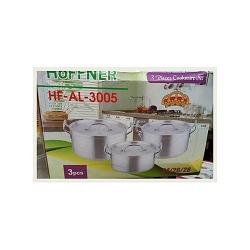 Hoffner Cooking Pot - 3set 24cm 26cm 28cm