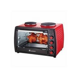 Saisho Electric Oven With Double Burner Hot Plate - 50Litres