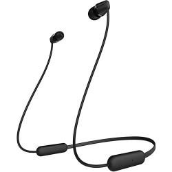 Sony WI-C200 Wireless In-Ear Headset/Headphones With Mic For Phone Call, Black WIC200 (SC)