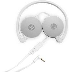 HP 2800 Pikes Silver Headset with in Line Mic for Handsfree, Foldable (DW)