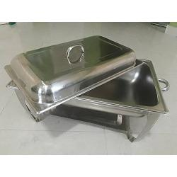 HOFFNER High Grade Anti Rust Stainless Steel Chafing Dish - 8.5L