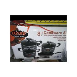 DZIRE 8 PIECES COOKWARE SETS + Free SPOON