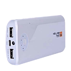 New Age Y29 15600mAh Mobile Power Bank (DW)