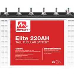 MERCURY ELITE 220AH DEEP CYCLE TALL TUBULAR BATTERY