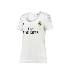 (Customized) Female Real Madrid Authentic Home Jersey 2015/16