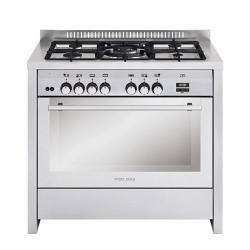 Glem 5 Burner Gas Cooker with Oven (100x60)