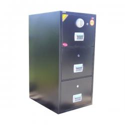 Global 3-drawer fireproof cabinet(Digital Lock)