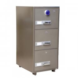 Gubabi 3-drawer fireproof cabinet(Digital Lock)