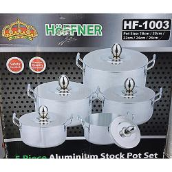 Hoffner 5 In 1 Aluminium Cookware Set