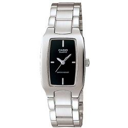 CASIO LTP1165A-1C WOMEN'S ENTICER BLACK DIAL ANALOG SMALL WATCH