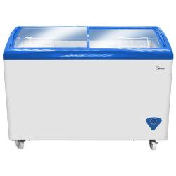 Midea 254 Litres Ice Cream Display Cooler | D439 Silver