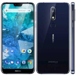 NOKIA 7.1 TA-1095 DS BLUE|Front-camera 8 MP