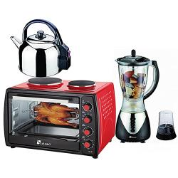 SAISHO ELECTRIC OVEN + ELECTRIC KETTLE AND BLENDER