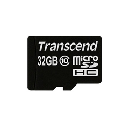 Transcend 32gb micro sdhc class 10 with adapter