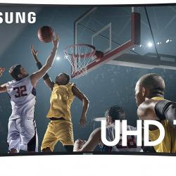 "SAMSUNG 55"" UHD 4K CURVED SMART LED TV